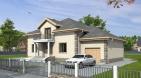 Проект дома с двускатной крышей